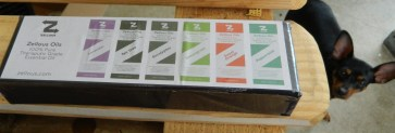 Zellous Aromatherapy Top 6 Essential Oils, 6/10 ml, Lavender/Sweet Orange/Eucalyptus/Peppermint/Tea Tree/Lemongrass