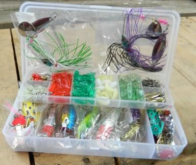 206pcs Fishing Lure Set