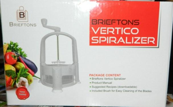 Brieftons Vertico Spiralizer