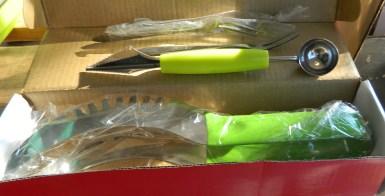 Water Melon Slicer Bundle with Melon Baller & Fruit Forks