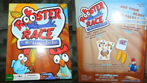 Rooster Race - Kids Party Game and Family Card Game