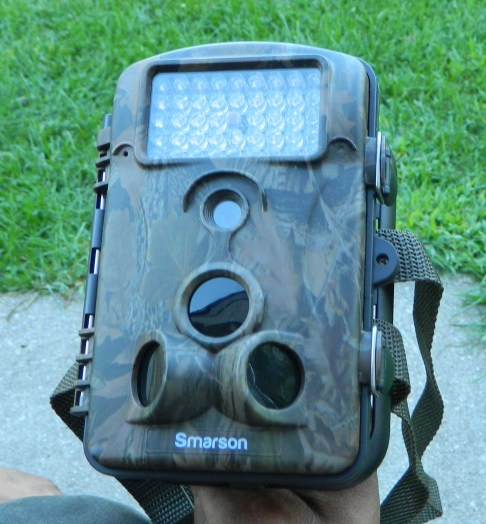 Smarson High Resolution LED Trail Camera, 5 MP, Wide Angle Night Vision