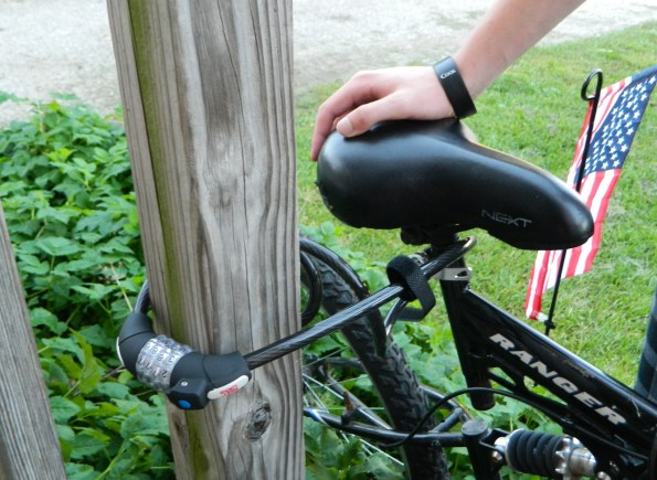 Bike Combination Lock Cable Anti-theft Lock