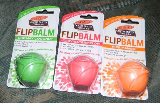 Palmer's FlipBalm (Ripe Mango, Juicy Watermelon & Creamy Coconut) Lip Moisture 0.25oz