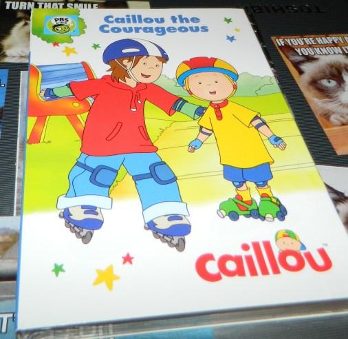 Caillou The Courageous DVD