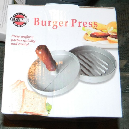 P.I.P.E. LLC Luxury Hamburger Press with 10 Burger Papers