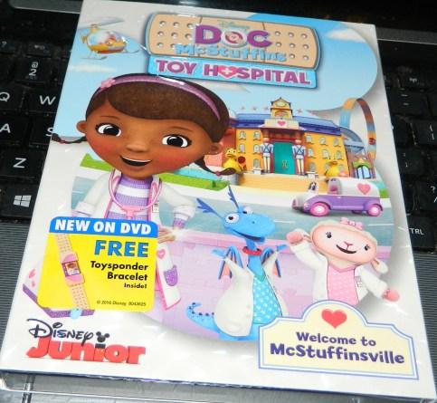 Doc McStuffins: Toy Hospital DVD