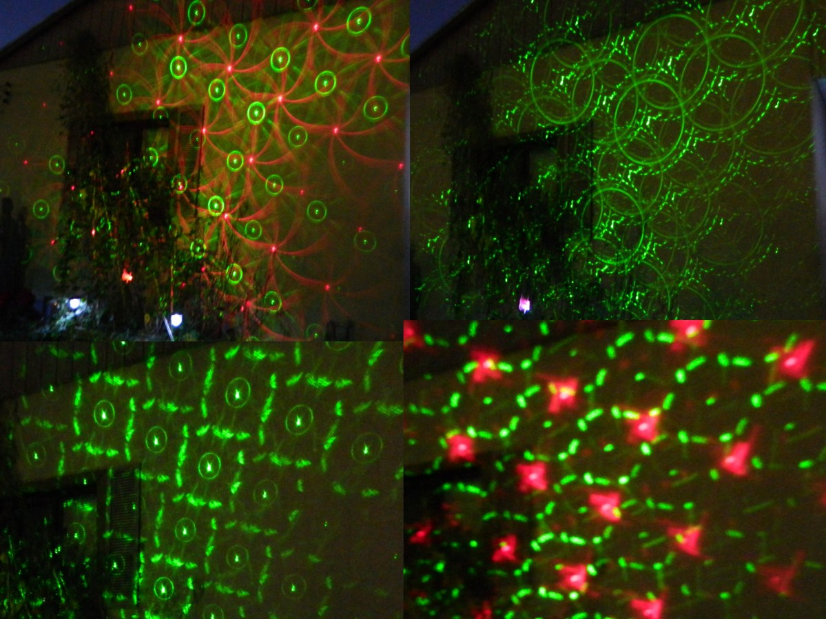 8 in 1 Laser Christmas Lights
