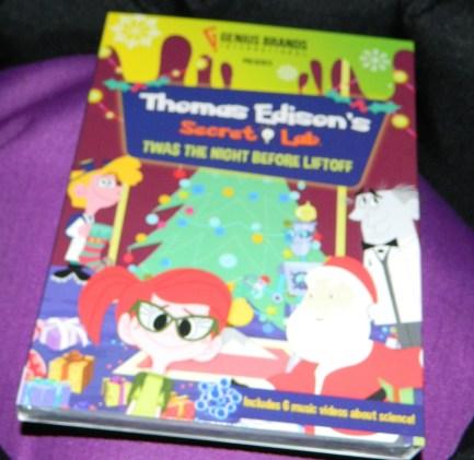 Thomas Edison's Secret Lab DVD