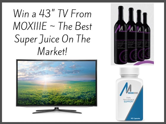 "Win a 43"" TV From MOXIIIE 3/3/17"