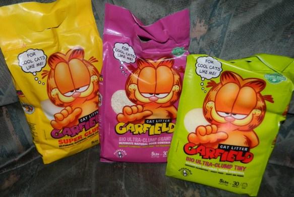 Garfield Cat Litter