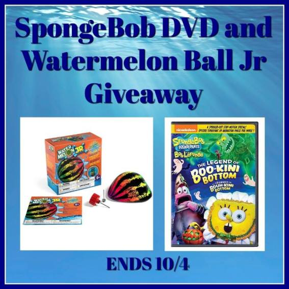 Welcome To The SpongeBob DVD And Watermelon Ball Jr Giveaway