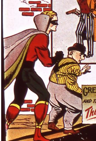 Green Lantern, Doiby Dickles, Golden Age, Comic, Superhero