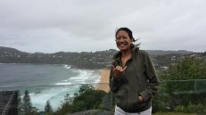 Whale beach in north Sydney