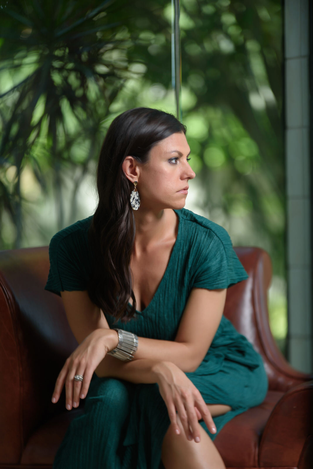 Sara Longoria Sitting
