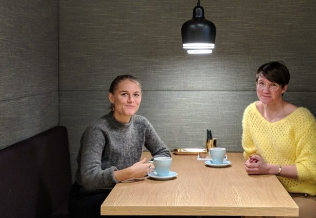 Jeg prater om alt på podcasten Power Ladies