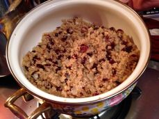 Quinua with Cranberries