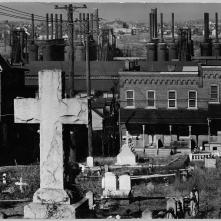 Walker-Evans-Bethelem-Graveyard-and-Steelmill-Pennsylvania-1935