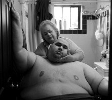 After years of gaining and losing hundreds of pounds, Hector Garcia Jr. was once again stuck in the back bedroom of his parents' modest house in San Antonio, Texas. At almost 600 pounds, he finds simple daily tasks like bathing a challenge. He struggled to walk across the hall from his bedroom to the bathroom so his mother, Elena Garcia, could wash him after cutting his hair in November 2010. A month before, Hector started dieting after he realized he was close to his highest known weight, 636 pounds.