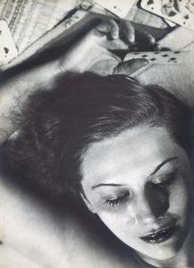 16-Femme-aux-cartes-1930-fotografia