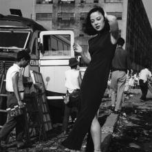 """L'attrice Yamaguchi Yoshiko"", 1952 535 x 748 mm. (Ken Domon Museum of Photography)"