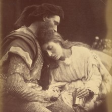 Julia_Margaret_Cameron_(British,_born_India_-_Parting_of_Sir_Lancelot_and_Queen_Guinevere_-_Google_Art_Project