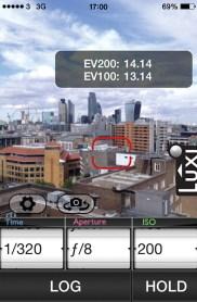Pocket-Light-Meter-app