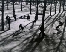 After school in the Tuileries, Paris, 1928