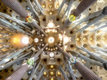 La Sagrada Familia Cathedral. Barcelona. Spain
