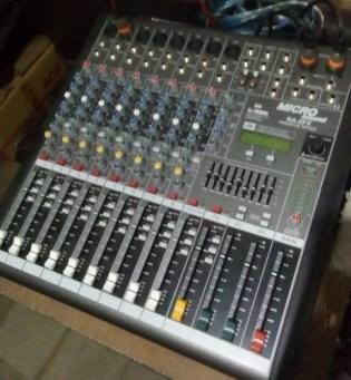 Mixer Sound Sentral Sekolah