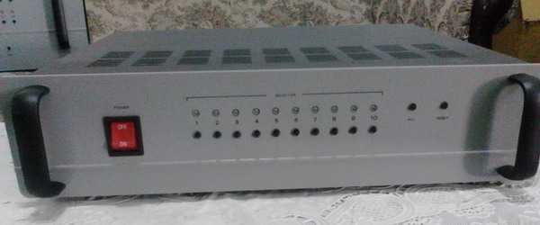 Speaker Selector 10CH