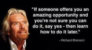 Richard Branson Wisdom - WordPress Websites and Training - Sara Ohara