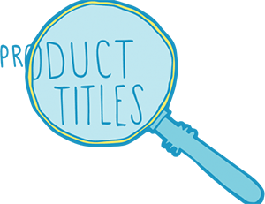 Product Titles for SEO