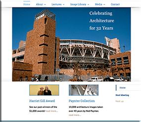 Friends of San Diego Architecture - Wordpress Websites and Training - Sara Ohara