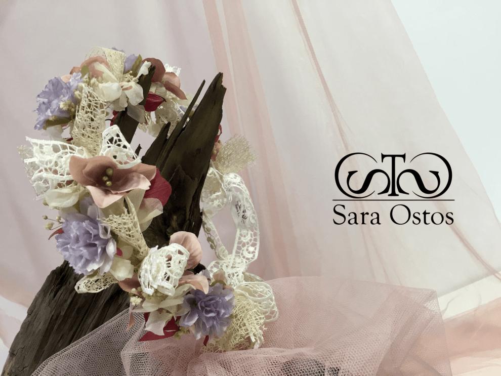 Diseñadora Sara Ostos Tocados Florales