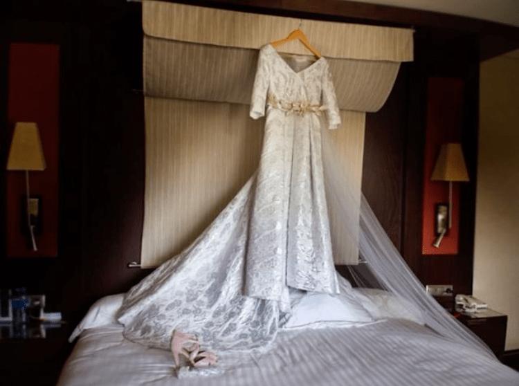 Vestido de novia Miriam | Diseñadora Sara Ostos