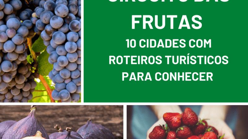 Circuito das Frutas: 10 cidades com roteiros turísticos – SP