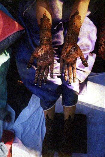 Bride's Henna