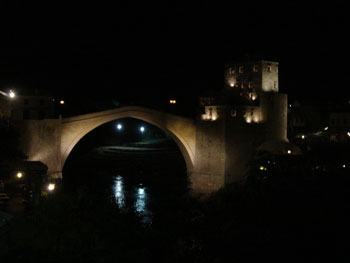 Stari Most Night