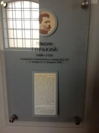 1905'te Maksim Gorki de birkaç ay burada yatmış.