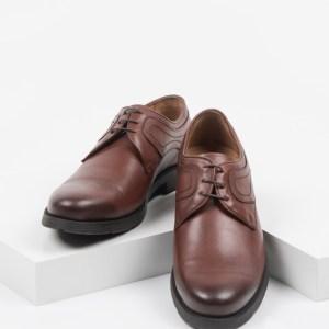Мъжки обувки в кафяв цвят-0415502