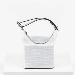 Дамска чанта в бял цвят-725393LCR