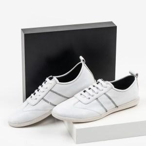 Мъжки обувки в бял цвят-281055