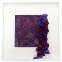 shibori silk texture stitch