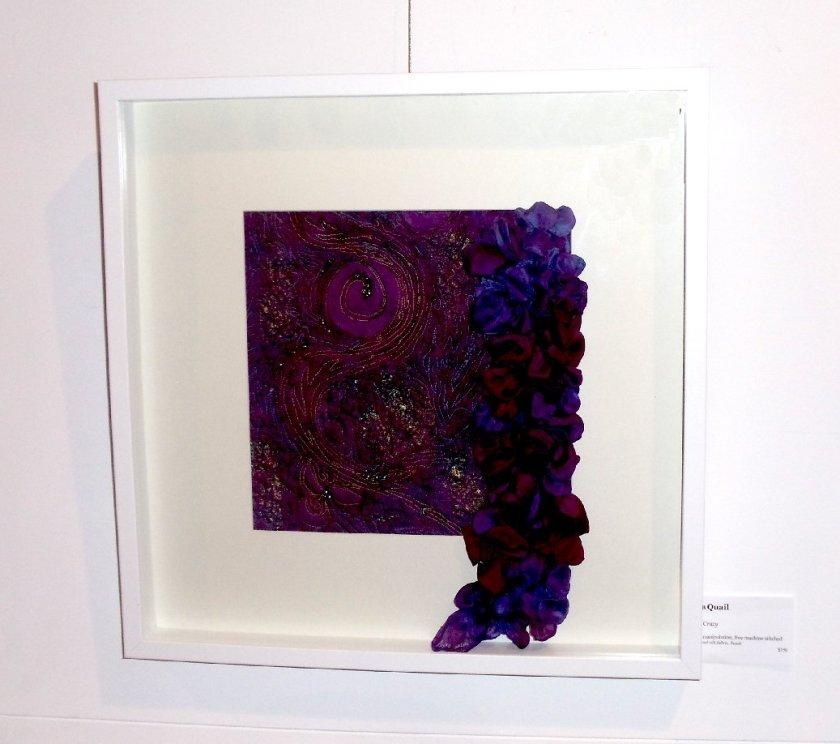 sara quail shibori layered textile