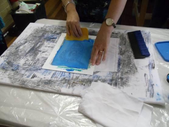 Textile techniques printing