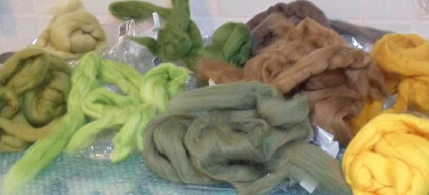 fine merino wool rovinb