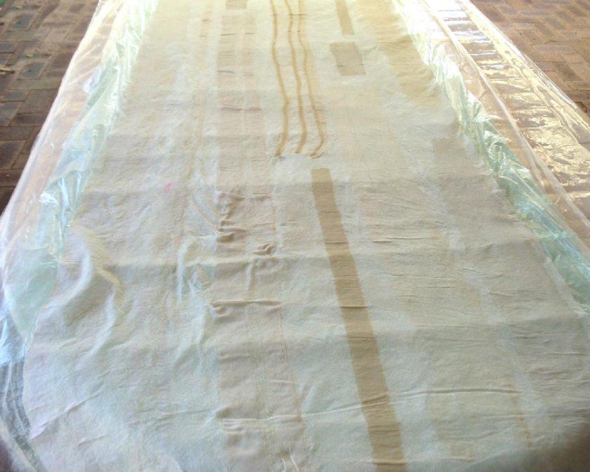 Sari silk pre-felt