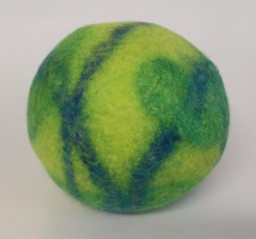 Felted vessel