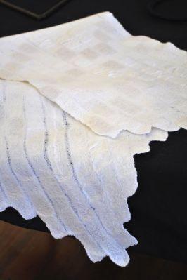 Silk both sides of wrap